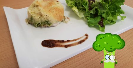 Parmentier poisson brocoli